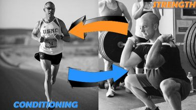 how to combine strength and conditioning