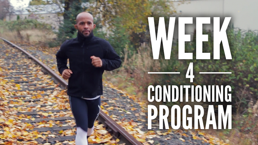 Conditioning Program: Week 1 - 8 Weeks Out