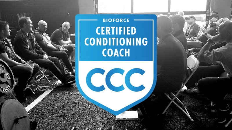 Become a certified conditioning coach